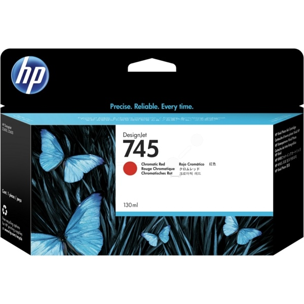 HP 745 red 130 ml