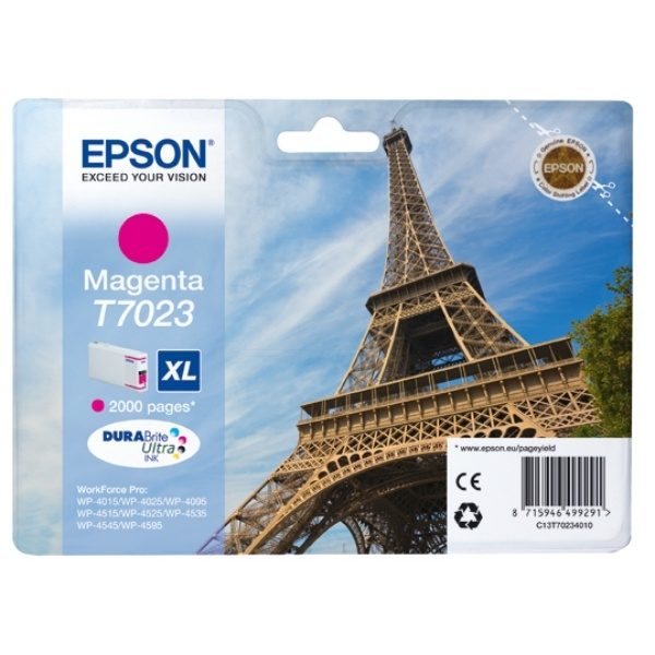 Epson T7023 magenta 21,3 ml