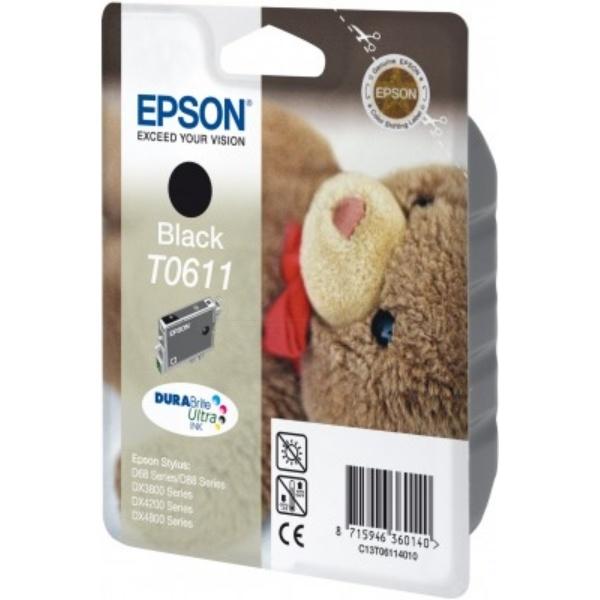 Epson T0611 black 8 ml