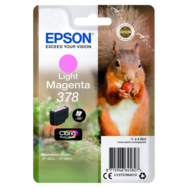 Epson 378 photomagenta 4,8 ml