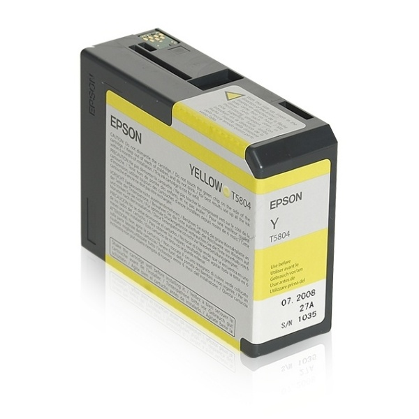 Epson T5804 yellow 80 ml