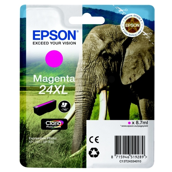 Epson 24XL magenta 8,7 ml